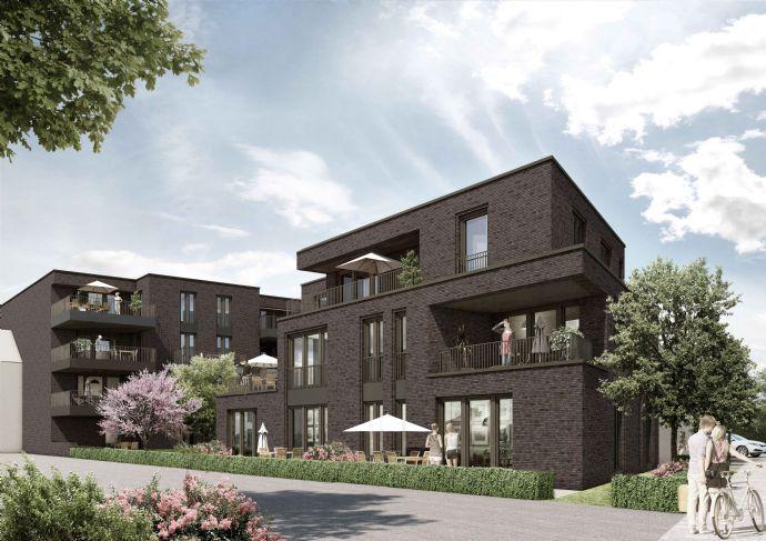Exklusive 2 Zimmer Wohnung mit 2 Terrassen in Grevenbroich Wevelinghoven