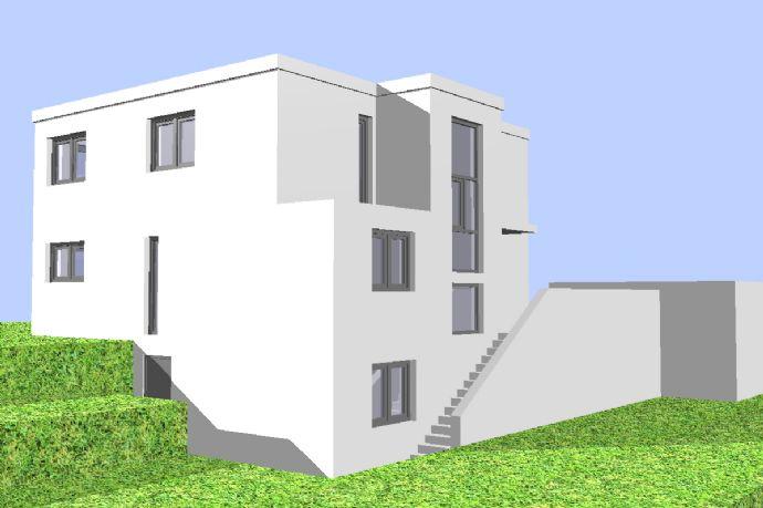 Einfamilienhaus mit Einliegerwohnung, massiv modern bauen - schlüsselfertig