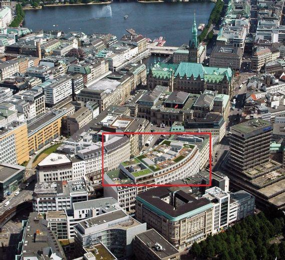 Moderne Luxus-Loftwohnung im Herzen der Hamburger Altstadt