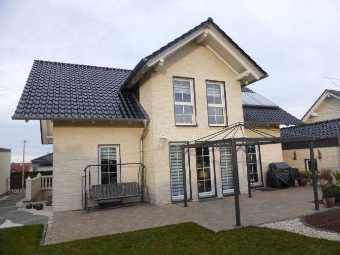 ***Neuwertiges Einfamilienhaus in gesuchter Lage Obervellmar mit uneinsehbarem Grundstück zu verkaufen ***