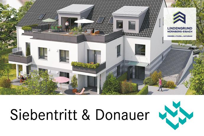 Flexible Grundrissplanung: Großzügige 3-Zimmer-Wohnung TOP-Wohnanlage barrierefrei mit Lift und Tiefgarage in Nürnberg-Eibach