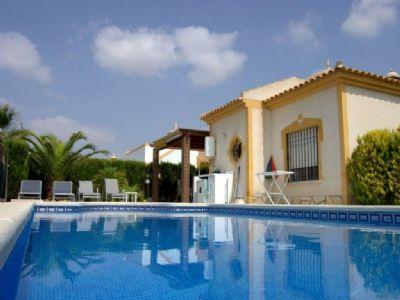 Traumhafte Villa Capricho  in Mazarron mit großen Pool