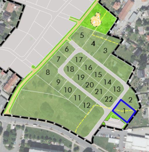 Baufeld 1 im Baugebiet Pillnitzer Straße / Richard-Wagner-Straße/Schillerstraße in Radeberg