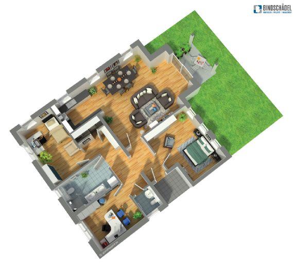 Hochwertiges Wohnen in Weingarten - 4,5-Zimmerwohnung