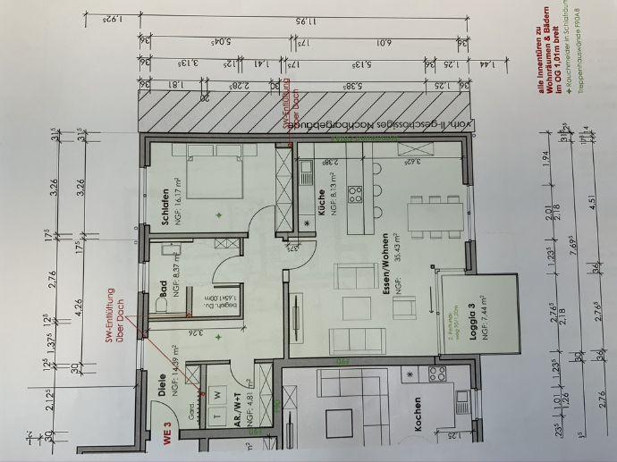 Neubauwohnung in Rhede-Krechting