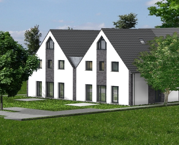 Neubau DHH 170 m², 5+2/2 Zi., Wellingbüttel