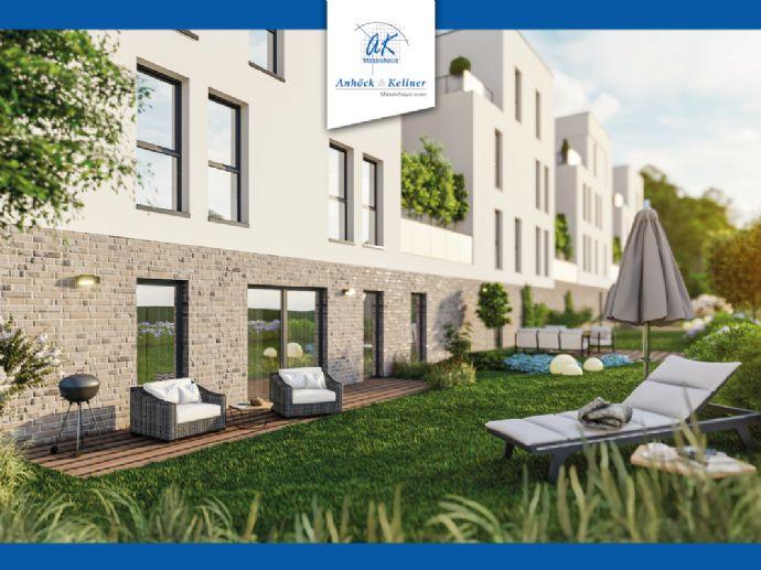 Familienwohnung mit Terrasse im Grünen und das Mitten in Erfurt