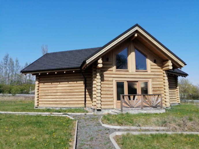 Schwedisches Massivholzhaus - Musterhaus