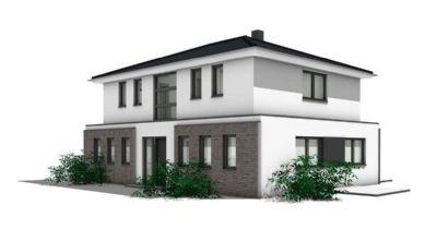 Neubauplanung von 2 Architekten-Stadthäusern in Großhansdorf