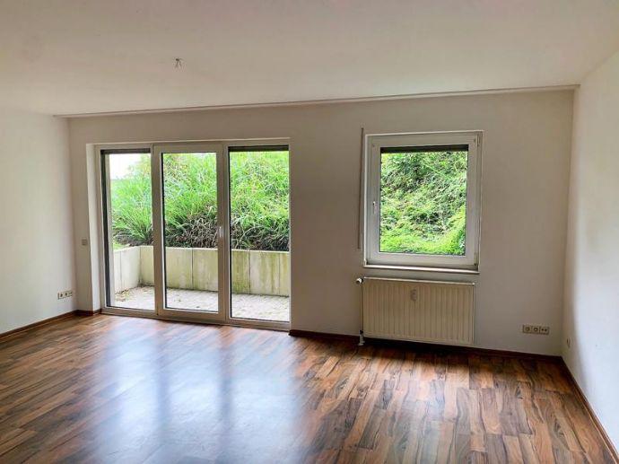 Witten-Bommern: Senioren-Appartement, 36m², Terrasse, komplett barrierefrei