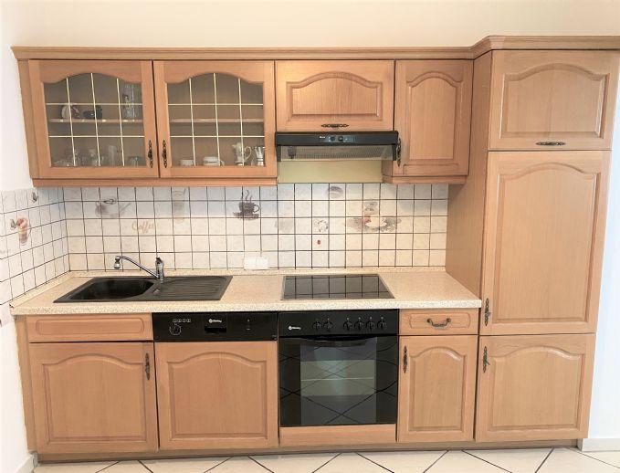Mannheim-Sandhofen: Erdgeschoss, voll möblierte eingerichtete 2-3 Zimmer Wohnung