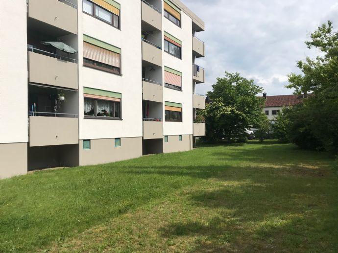 Ingolstadt - 3-Zimmer-Wohnung mit Balkon und Gartenmitbenutzung .Provisionsfrei !