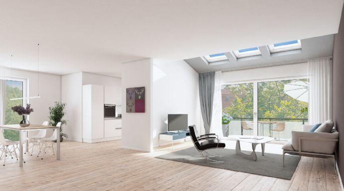 Maisonette-Wohnung mit Wohlfühlfaktor - viel Flair, Lebensqualität und beste Verkehrsanbindung