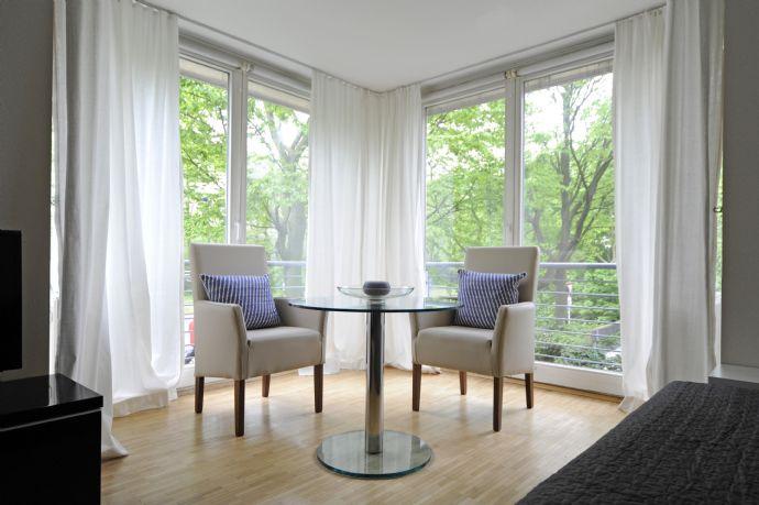 Business Appartment - Einzelbüro - Büro - Wohnbüro - möbliertes Wohnen - möbliertes Arbeiten - Quarantäne Lösung