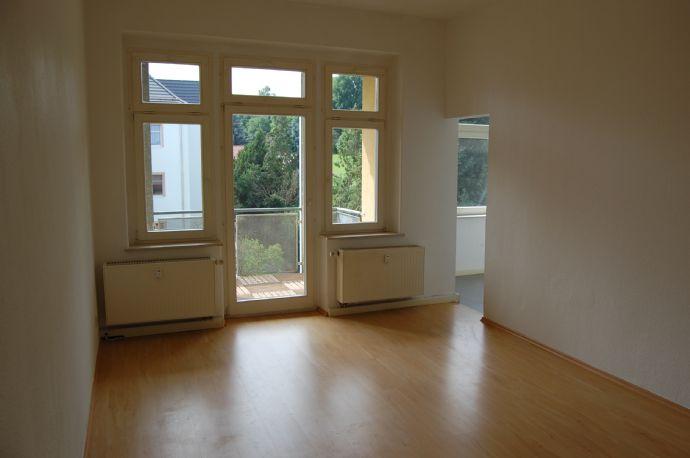 renovierte 2-Raum-Wohnung mit Balkon in Zittau West