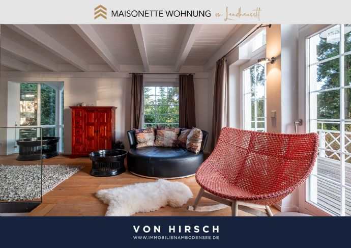Luxuriöse Maisonette Wohnung im Landhausstil mit Seesicht und Garten in Überlingen