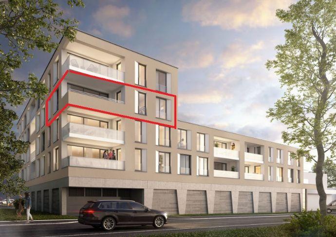 Erstbezug: Moderne 3 Zimmer Neubau-Wohnung mit Loggia in Stuttgart-Vaihingen (Dürrlewang)