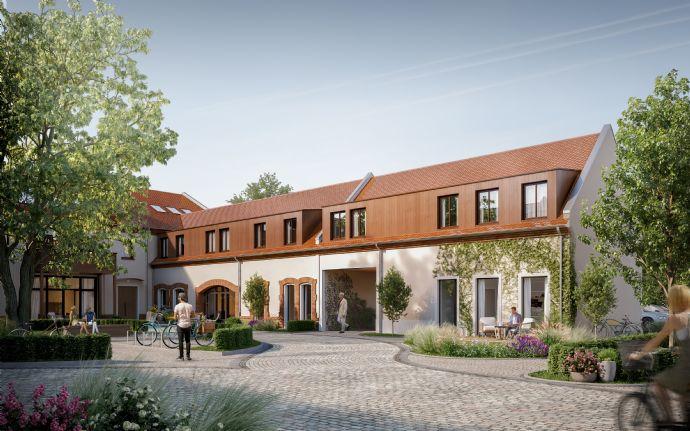 STADTGUT Leipzig - modernes Neubau-Einfamilienhaus in historisch-denkmalgesch. 3-Seiten-Hof-Ensemble  Bear