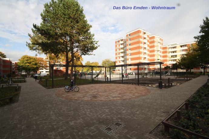 Sehr schöne 2 Zimmer Wohnung in Emden Stadtteil Borssum zu vermieten