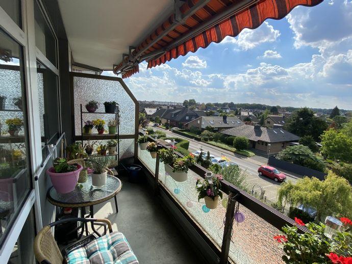 Wesel-Flüren: gemütliches 1-Zimmer Apartment mit Balkon!