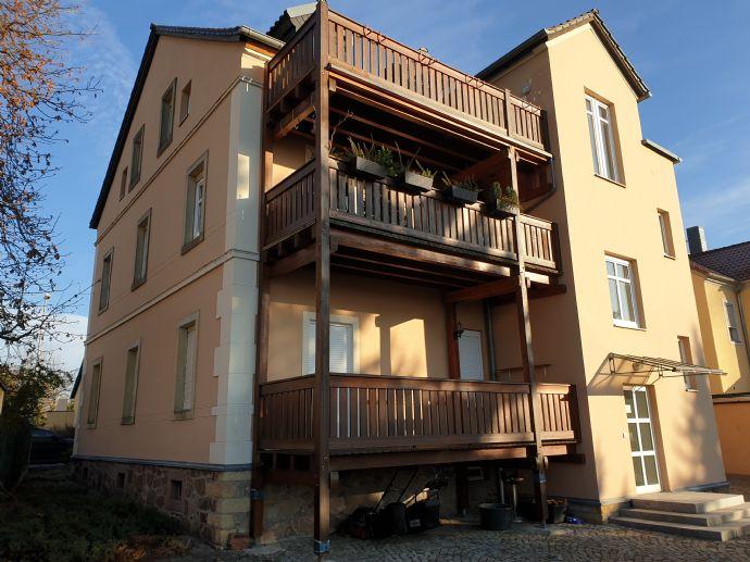 Seltene Gelegenheit! Saniertes Mehrfamilienhaus mit zusätzl. Baugrundstück in Coswig zu verkaufen!