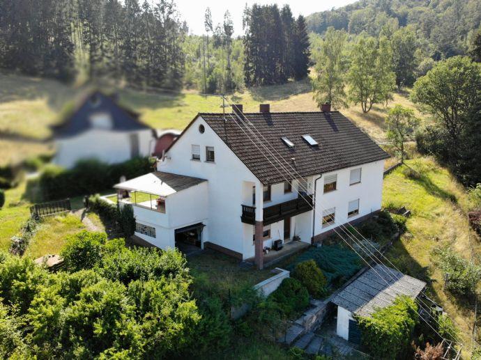 Vier-Familienhaus in idyllischer Lage in Biedenkopf-Wallau