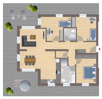 penthouse bitburg pr m penthouse wohnungen mieten kaufen. Black Bedroom Furniture Sets. Home Design Ideas