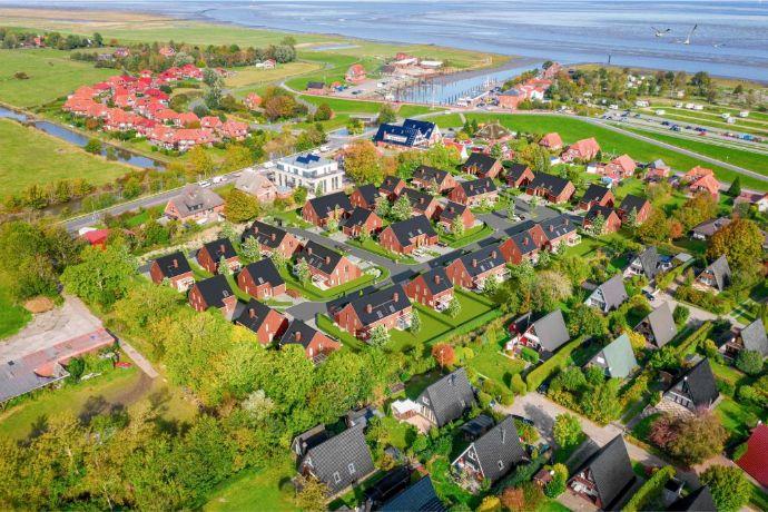 Schönes Neubau-Ferienhaus in Fedderwardersiel an der Nordsee