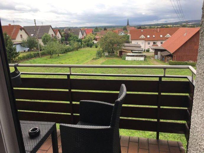 Dachgeschosswohnung mit Balkon in Wertheim-Nassig