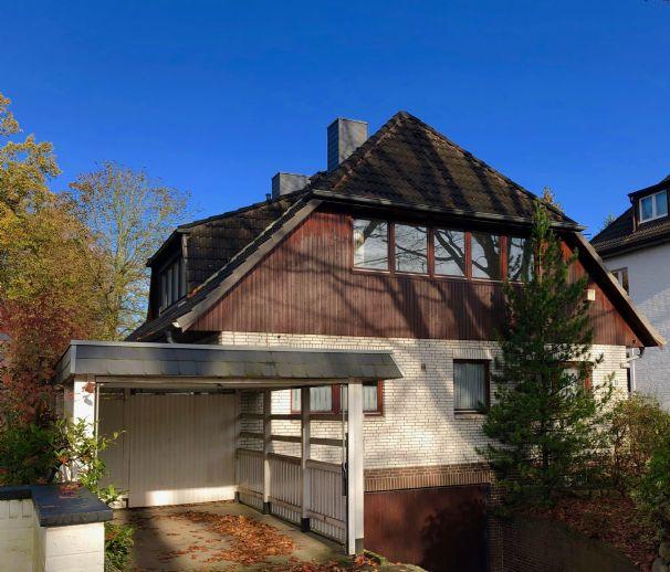 Großzügiges Einzelhaus in bester Lage von Wellingsbüttel