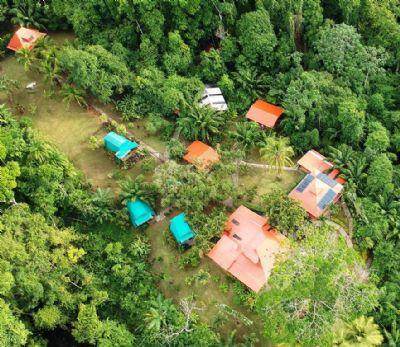 Costa Rica, Pazifik Süd, Puntarenas, Drake Bay Gastronomie, Pacht, Gaststätten