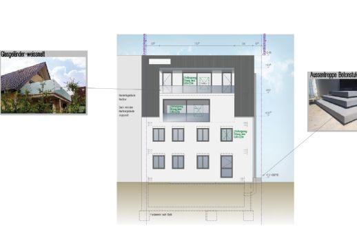 3,5 Zimmer Wohnung im EG mit Terrasse KERNSANIERT