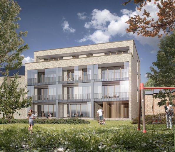 Zwischen Othmarschen und Ottensen, Neubau-Eigentumswohnungen mit Blick in den Rathenaupark