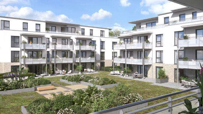 Ideal für Singles und Kapitalanleger - Neubauwohnung im Parkquartier