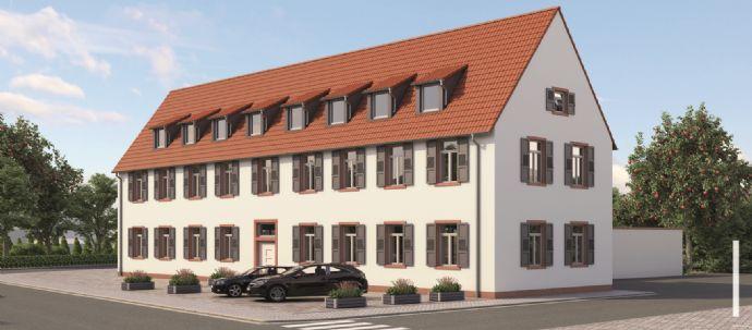 4-Zimmer Wohnung für Eigennutzer / Kapitalanleger in zentraler Lage von MA-Seckenheim (Denkmalschutz)