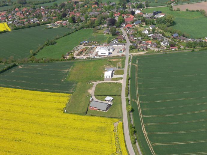 Baugrundstücke in Fiefbergen für Betriebsleiterwohnhaus mit übergeordnetem Gewerbeteil