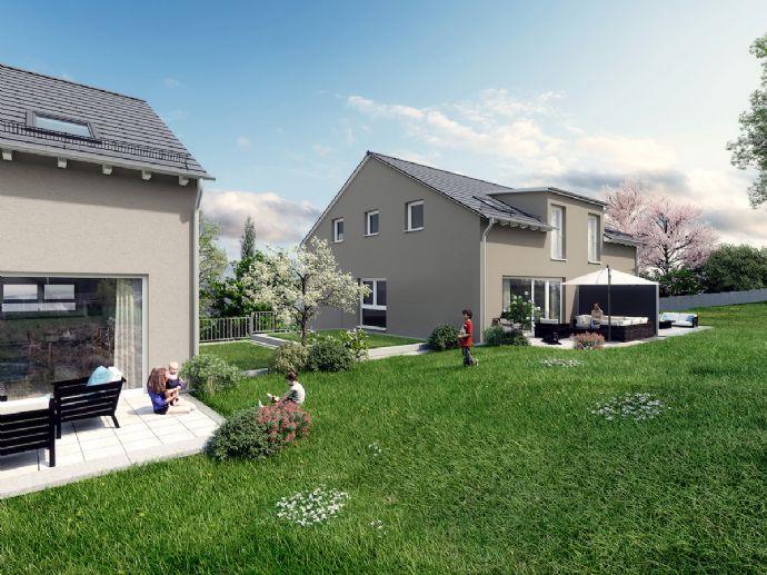 Große Neubau-Doppelhaushälfte mit toller Ausstattung und Aussicht!