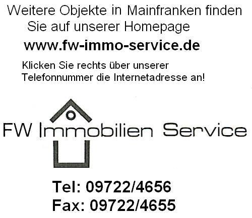Stark renovierungsbedürftiges Einfamilienhaus mit Scheune und Laden in Wülfershausen an der Saale