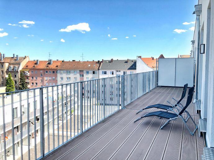 Moderne 2-Zi-Wohnung mit EBK und großem Balkon