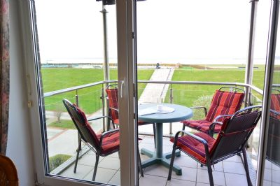 Ferienwohnung Nordseeperle OG in der Residenz