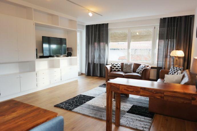 Neuwertige möblierte 4 Zimmer Etagenwohnung 1. St. Münchnen Süd ab 1. Januar 2021 auf Zeit zu vermieten.