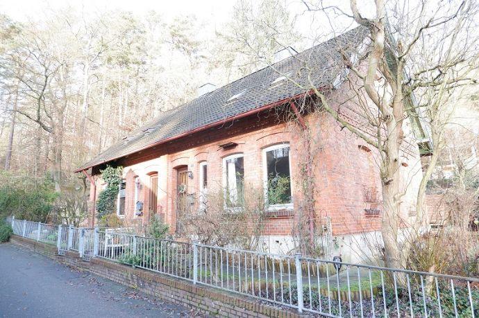 Älteres Doppelhaus (vermietet) in schöner Lage