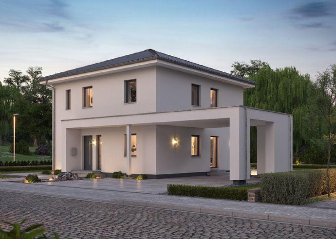 Bauen Sie sich eine moderne Stadtvilla und erleben Sie Ihren Feierabend wie einen Kurzurlaub