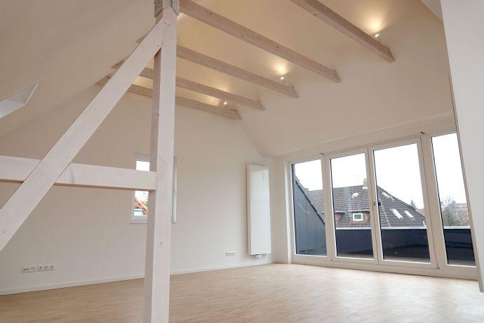 Erstbezug! Exklusive 4-Zi.-Dachgeschosswohnung mit sonniger Dachterrasse & hochwertiger Ausstattung