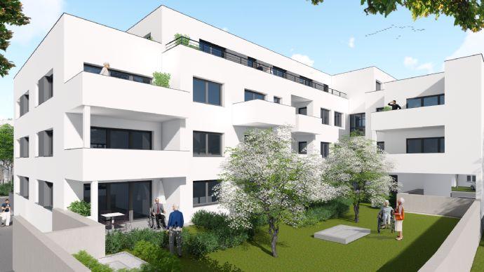 Neubau 2-Zimmer-Penthouse-Wohnung, Seniorenwohnanlage in Senden