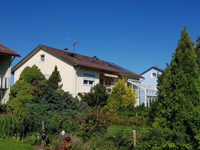 Murnau, DHH Süd/Westlage mit Sicht in die Alpen
