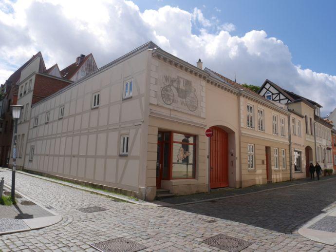 Ruhige 2-Raumwohnung mit Terrasse in der Stralsunder Altstadt