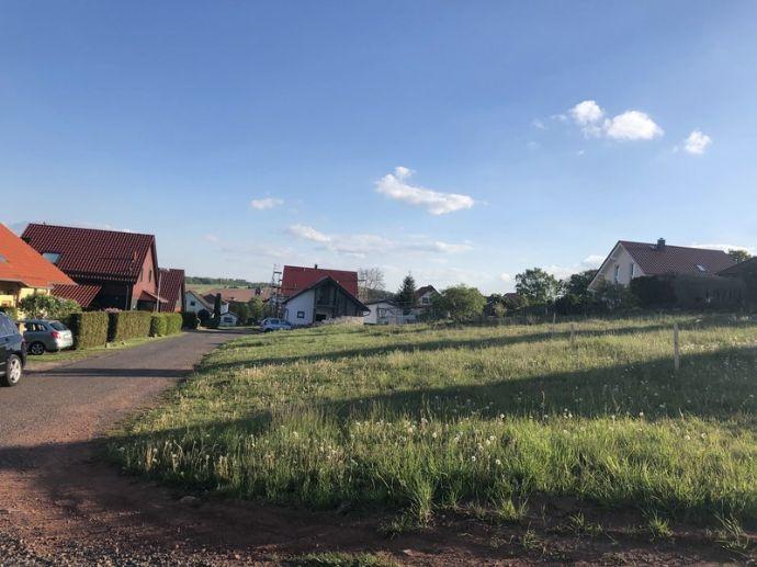 Naturnah bauen - Grundstück mit Fernblick