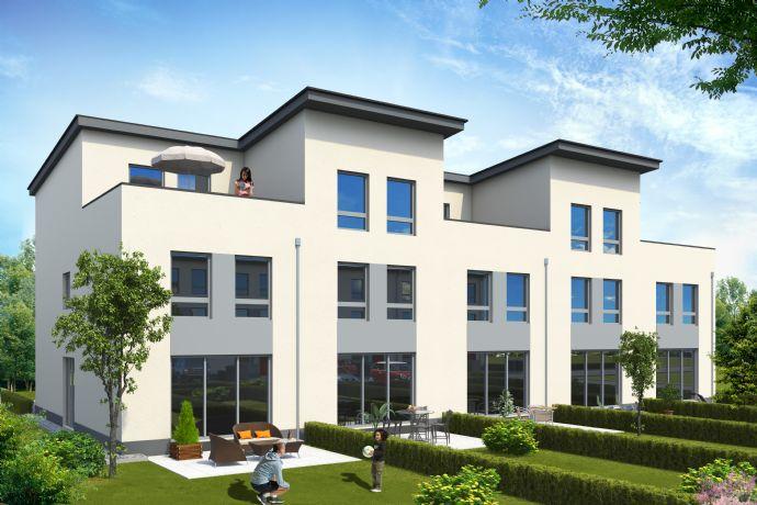 Neues Wohnen im Rheintal Quartier im Townhouse mit Dachterrasse und KfW-55 Standard!