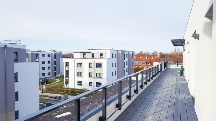 Wohnen in Warnemünde! Exklusive Penthousewohnung, Erstbezug, Neubau 2019!
